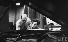 """""""A record is a concert without halls, and a museum whose curator is the owner."""" - Glenn Gould"""