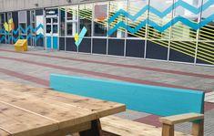 UWE courtyards by Upcircle Design Studio Design Studio London, Slow Design, Design Movements, Circular Economy, Graphic Design Studios, Courtyards, Sustainable Design, Innovation Design, Ecology