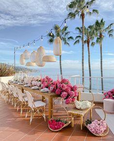 Luxury Wedding, Dream Wedding, Summer Wedding Decorations, Decor Wedding, Reception Decorations, Photo Couple, Deco Table, Wedding Goals, Event Decor