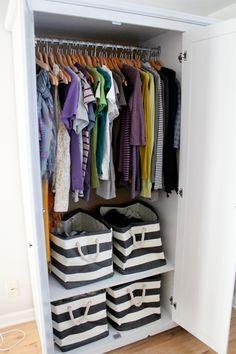 Bedroom Storage // Cute & Co.