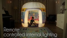 Pods Products - Themed Inflatable Sensory Play Spaces