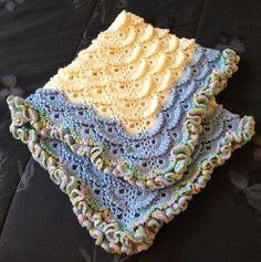 Ravelry: karolyn333's Fluffy Meringue Baby Blanket