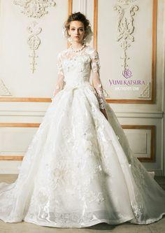 Yumi Katsura 桂由美 ウェディングドレス