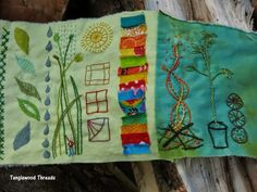 Tanglewood Threads: daily. Scratchings 2014