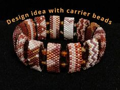 CARRIER BEADS! Such a fun bead to use, but it is sooo hard to find them available to buy! They are a new bead style that is just beginning to catch on...like wildfire! When I FINALLY found them, I bought a large-ish quantity, to share with my beading friends on Etsy. What are Carrier