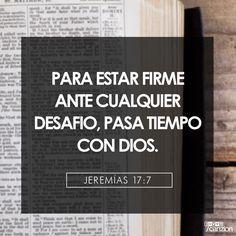«Pero benditos son los que confían en el Señor y han hecho que el Señor sea su esperanza y confianza». —Jeremías 17:7