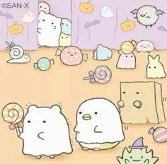 nadeshikocha:  cute sumikko gurashi for halloween <3