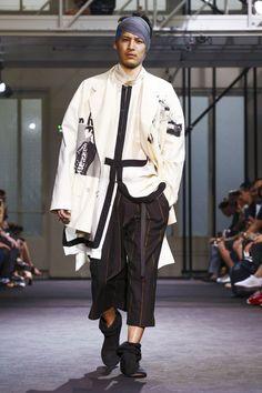 Yohji Yamamoto Menswear Spring Summer 2017 Paris