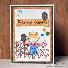Inspiration & Giveaway on our Blog Hop with @lawnfawn Happy Harvest card greets you! Made by @ilscraps she used E-Z Runner® Ultra Refillable Dispenser to adhere card panels, 3D Foam Squares for the die cuts to create dimension and Dodz Adhesive Dots Mini for the sequins. Visit our blog for more inspiration!
