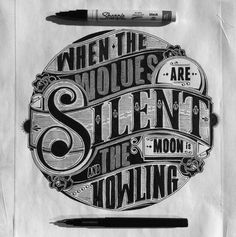 Creative Type, Ben, Johnston, Lettering, and Handdrawn image ideas & inspiration on Designspiration Typography Love, Vintage Typography, Typography Letters, Types Of Lettering, Lettering Design, Moon Sketches, Typographie Inspiration, 3d Type, Type Art