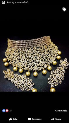 Necklaces – Page 10 – Finest Jewelry Wedding Jewellery Designs, Indian Wedding Jewelry, Bridal Jewelry, Jewelry Design, Stylish Jewelry, Cute Jewelry, Jewelry Sets, Fashion Jewelry, India Jewelry