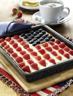 Flag Cake (USA-Flaggenkuchen)