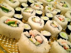 O yes Sushi is one of my favorite foods ever