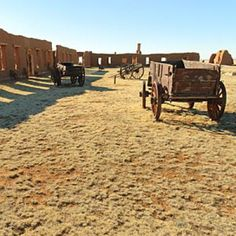 Ghost town: Fort Union National Monument, Watrous, NM