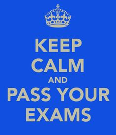 Daniel : go that exam salon , get the highest grade! be the best, then walk out, put your headphones on , have a 30 sec dance party in your head. :)  you are going to dooooooooooooooooo thiiiiiiiiiiiiiiiiiiiiiiiiiis 8-> come on! we both know it B-)