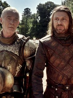 Ser Barristan Selmy & Lord Ned Stark GOT S1