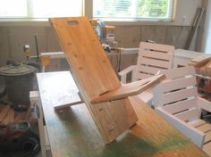 This type of chair was a build project for America's Boy Scouts since the 1930s, though they didn't design it. It's been referred to as a Camping Chair, a Bog Chair, an X-Chair, a Stargazer Chair, a Viking Chair, an African Chair—no one can agree on where the design first