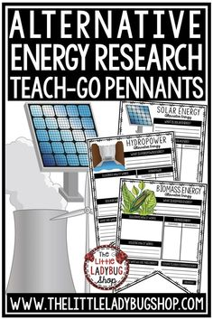 You will enjoy using these Alternative Energy Pennants! Print & Go with these Pennants! These Alternative Energy Posters are perfect for a quick interactive activity to study of types of energy. Perfect for 4th grade, 5th grade and home school students. #alternativeenergyactivities #scienceactivities