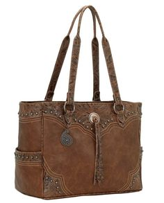 Bandana by American West Breckenridge Golden Tan Carry-On Tote