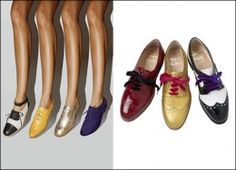 Oxfords are not just a shoe trend for men. Oxfords are a great trend for women as well! The greatest thing about the Oxford shoe is the versatility and comfort! I love the Oxford shoe just as much as celebs do because of the comfort you can have. High Heel Pumps, Pumps Heels, Women Oxford Shoes, Clearance Shoes, College Fashion, Brogues, Loafers, Womens High Heels, Me Too Shoes