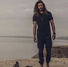 The face that inspired Channing from Time: Wounds All Heal [actual model: Jack Greystone] Hairy Men, Bearded Men, Jack Greystone, Hair And Beard Styles, Long Hair Styles, Estilo Hipster, Man Bun, Look Cool, Gorgeous Men