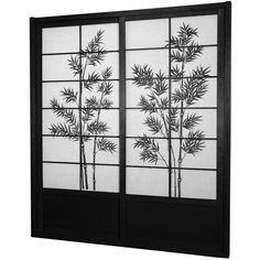 7 ft. Tall Bamboo Tree Shoji Sliding Door Kit ($589) ❤ liked on Polyvore featuring home, home decor, doors, screens, furniture, windows, door screen, shoji screen, outdoor home decor e outside home decor