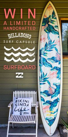 Want to win the Billabong Surf Capsule surfboard? Click through to the SurfGirl website to enter!