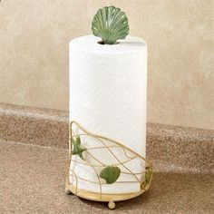 Coastal Paper Towel Holder Entrancing Sea Breeze Metal Paper Towel Holder  Gone Coastal  Pinterest Review