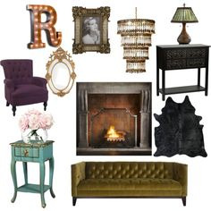 """Living room inspiration part 2"" by pindie on Polyvore"