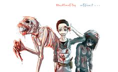 Josh and his sisters <3 Until Dawn = Game