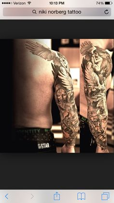 Tattoo, arm sleeve