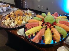 Canadian Honker Events at Apace; Cheese Display, Fruit Ideas, Pasta Salad, Acai Bowl, Food To Make, Catering, How To Memorize Things, Yummy Food, Events