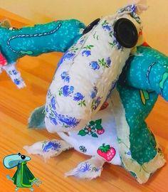Green Teensie plushie