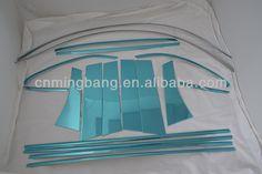 Stainless SteelFor Mitsubishi ASX Window Frame Trims Window Pillar Window Frame Strip
