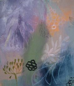"""""""painted garden"""" by tiel seivl-keevers. A place for meditation, daydreaming and to savor the memories of beautiful days."""