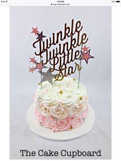 Twinkle twinkle little star Custom baby shower by ModernBlooms