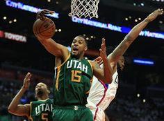 Blog Esportivo do Suíço:  Conjunto do Jazz bate os Clippers e garante volta à semifinal do Oeste