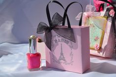 Paris party favor bags for any occasion on Etsy, $1.25
