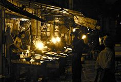 Fish market by Benoit Chancerel - Fish market in Sri Lanka Click on the image to enlarge.