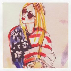 blondelasagna:    all american flavor Taken with instagram