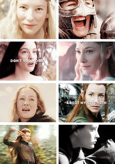 Yes! Love this, but should be more Tauriel and less arwen!