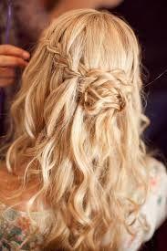 Beautiful Braided Half-up Half-down Hairstyle