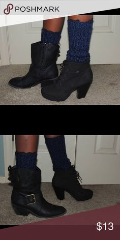 Boot cuff Boot cuff, wear over your socks that you can wear tucked into boot or bootie that adds to your outfit to go from simple to fun! Can wear with leggings, jeans or even a dress! Accessories Hosiery & Socks