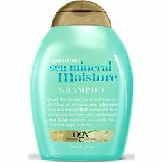 My new cheap shampoo obsession: Organix Quenched Sea Mineral Moisture Shampoo