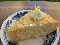 Arabic Bites: Bsemah (Coconut Semolina Cake) recipe: meedo