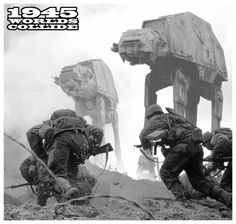 WWII x Star Wars by Phil Postma