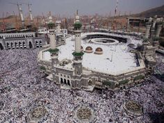 Millions of pilgrims head to Mecca