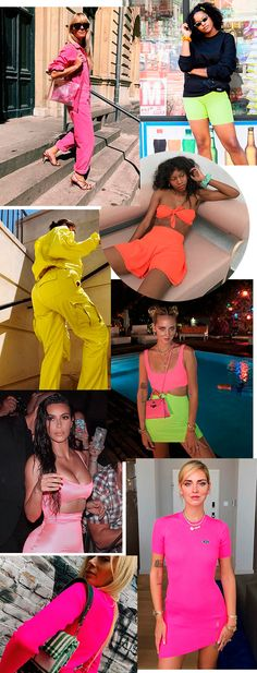 neon - trendy - moda - looks - cor Neon Party Outfits, Themed Outfits, Rave Outfits, Trendy Outfits, Summer Outfits, Look Fashion, Girl Fashion, Womens Fashion, Samba