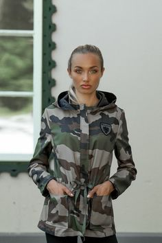 Nylons, Camouflage, Military Jacket, Blazer, Jackets, Fashion, Jacket With Hoodie, Sporty, Woman