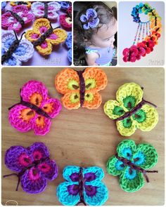 Crochet beautiful butterfly
